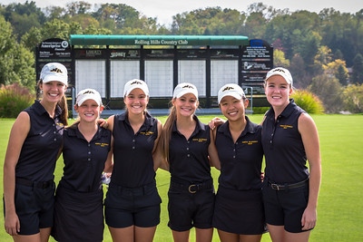 NA North Allegheny Girls Golf 2015-2