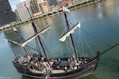 The Nina and Pinta at Pittsburgh