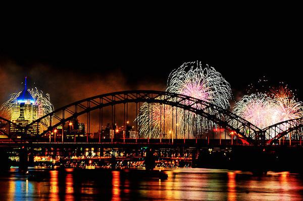 Pittsburgh 250th Fireworks