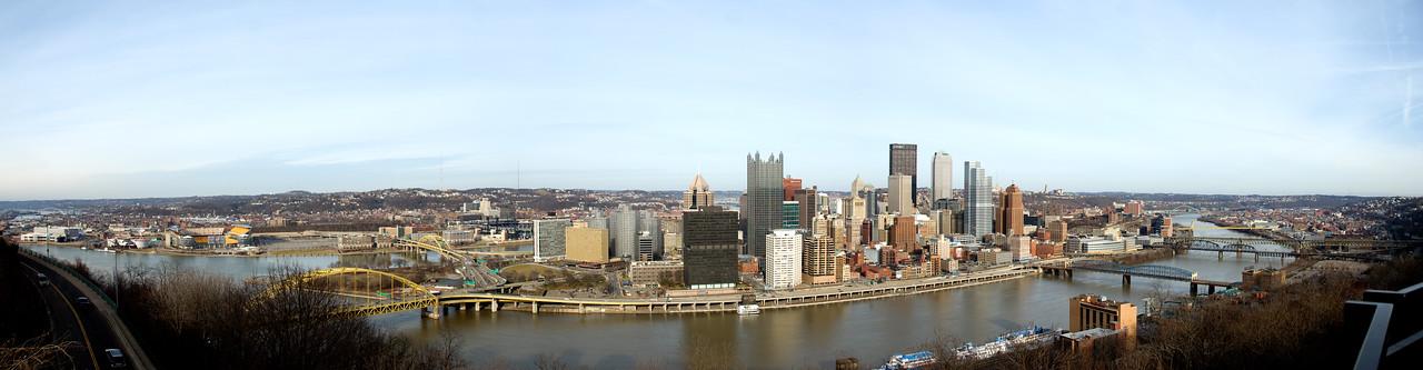 Pittsburgh Panorama January 2010