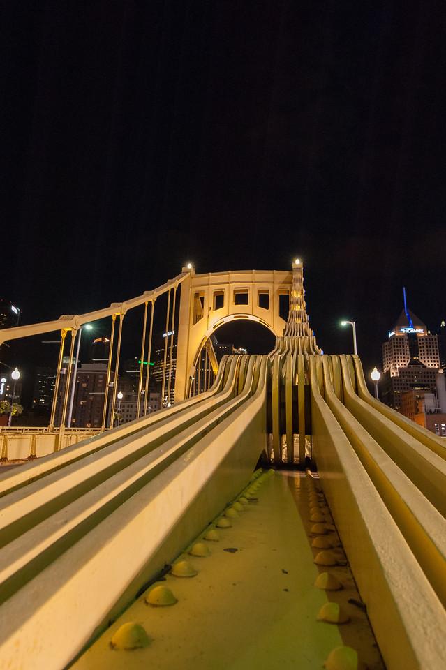 Roberto Clemente Bridge, Pittsburgh, PA