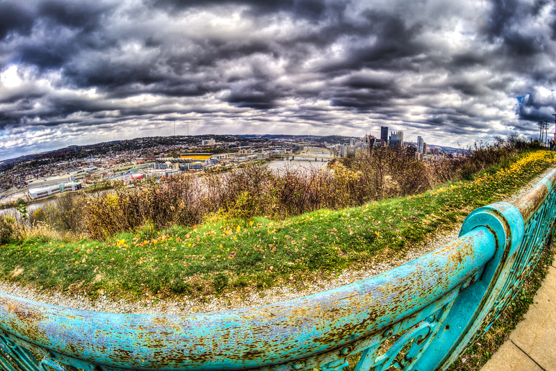 Mt Washington Overlook, Pittsburgh PA