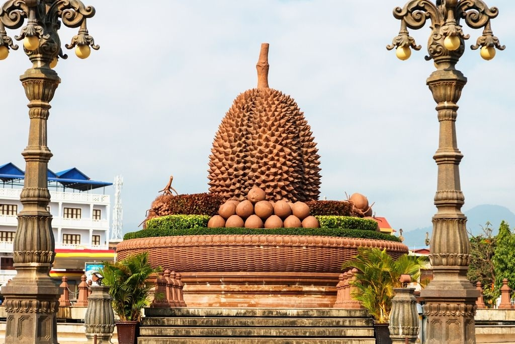 Durian at Kampot Roundabout