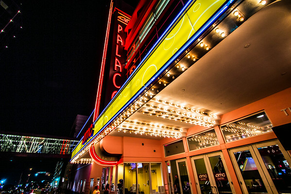 AMC movie theater, Downtown Fort Worth TX