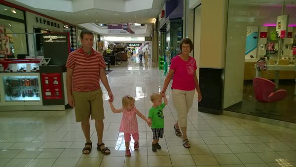 Grandma Barb & Papa Dave Visit Boise, July 2014