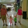 Kate & Harrison walk Chris & Grandma Barb through the mall.