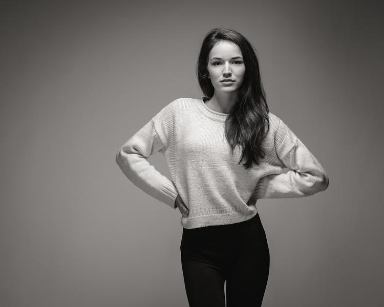 Clara Shepherd - agency test shoot