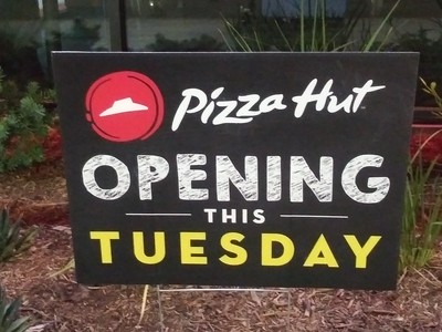 Pizza Hut Magnolia 8/1/2018