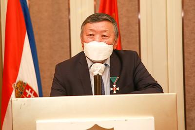 2021 оны есдүгээр сарын 21. Унгар Улсын Ерөнхийлөгчийн зарлигаар Унгарын Төрийн дээд шагнал гардуулаа. ГЭРЭЛ ЗУРГИЙГ Д.ЗАНДАНБАТ/MPA