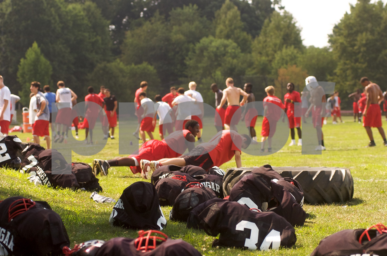 Two-A-Days begin during August for the 2009 QOHS Varsity football team