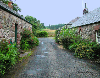 Cottages, Isle of Arran