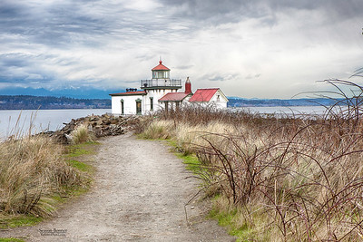 ALKI POINT LIGHTHOUSE, SEATTLE, WASHINGTON