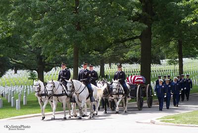 Arlington Cemetery Procession