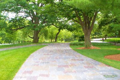 Arlington Cemetery Walkway