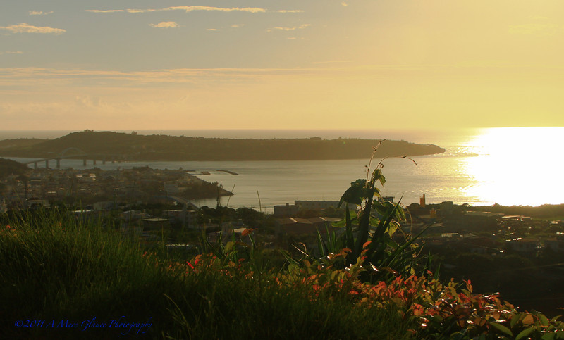 Sunset, Okinawa, Japan