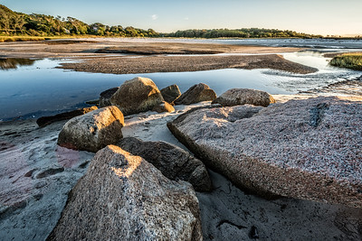 Brewster, Mass., USA.  The flats at Paines Creek during low tide.