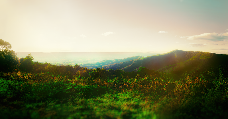 Skyline Drive panorama1