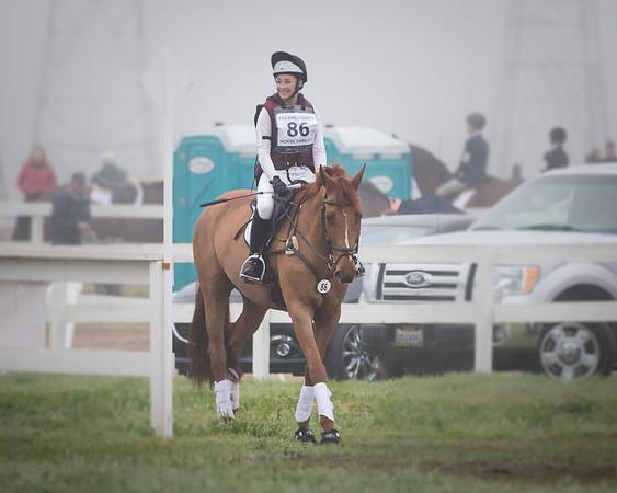 2016 Feb 20 Claire at Fresno Horse Trials