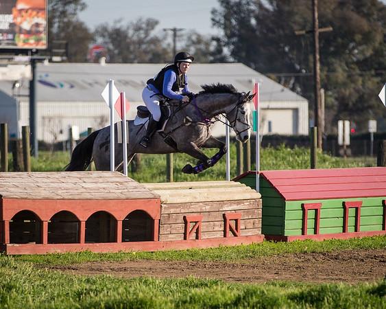 2016 Feb 20 Ashley at Fresno Horse Trials