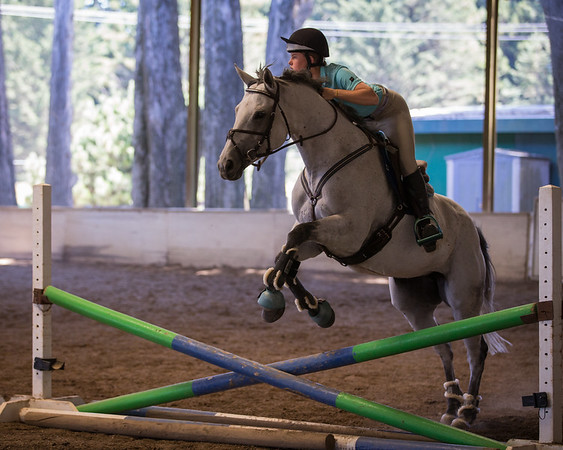 2016 July 28 Shanon Cleo Jumping