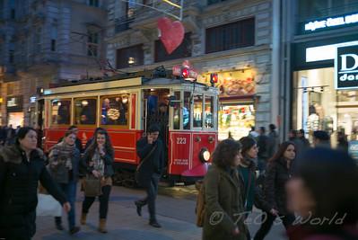 Galata tramway 2