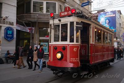 Galata tramway 1