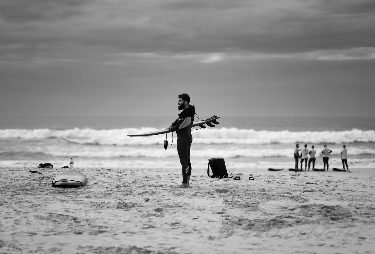 Surfer in San Joao Beach 1