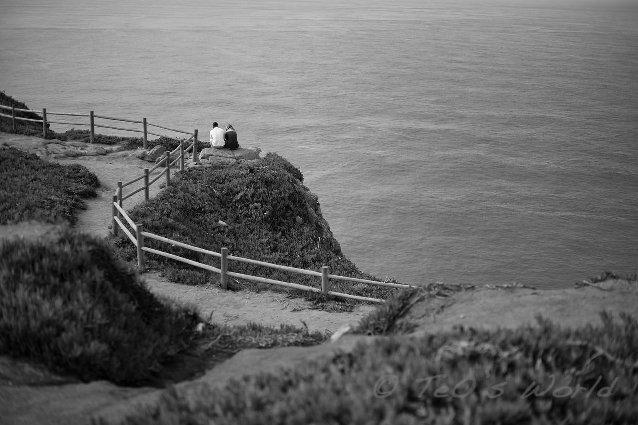 Alone in Cabo da Roca