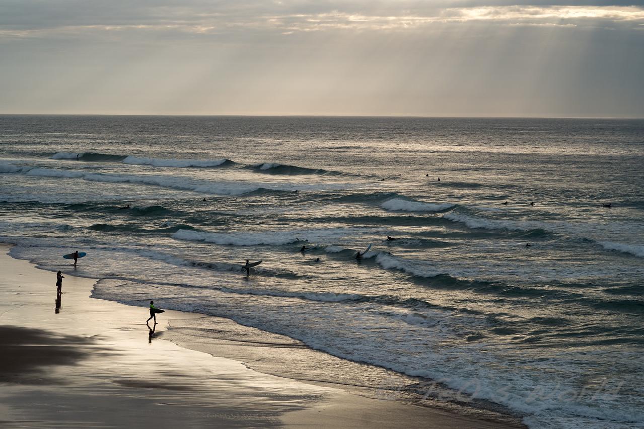 San Joao Beach Surfing