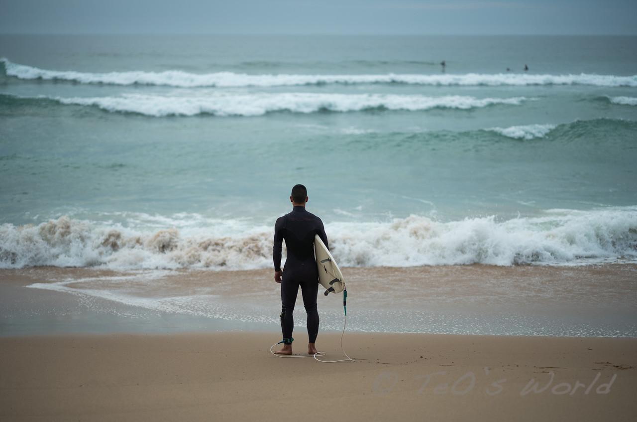 Surfer in San Joao Beach 2