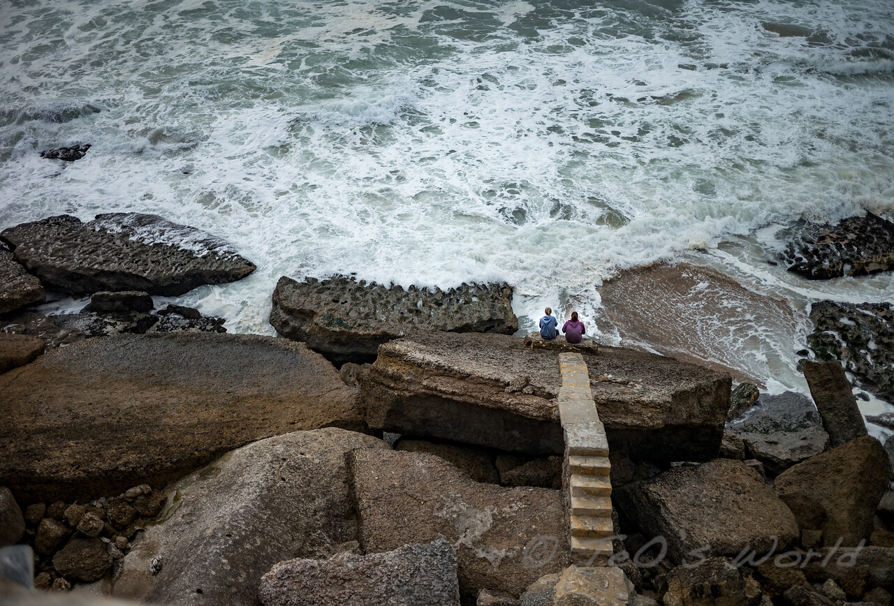 Defying the sea