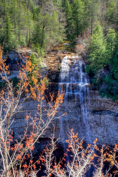 Falls Creek Falls, TN<br /> Early Spring