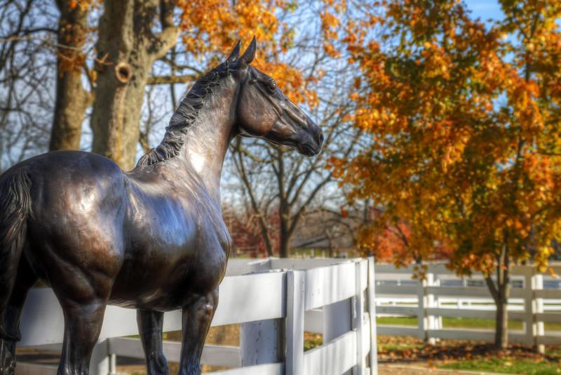 John Henry Memorial<br /> Kentucky Horse Park