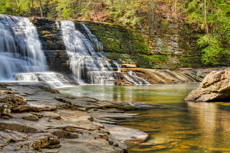 The Cascades<br /> Falls Creek Falls State Park, TN