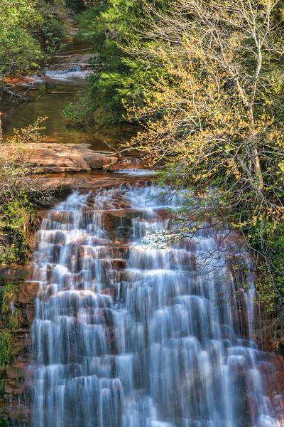 """Falls Creek Falls""<br /> Falls Creek Falls State Park<br /> Spencer, TN"