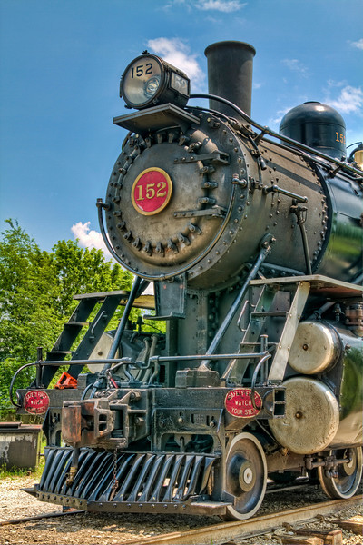 """L&N #152 Steam Locomotive""<br /> Kentucky Railway Museum<br /> New Haven, KY"