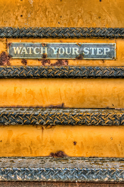 """Watch Your Step""<br /> Kentucky Railway Museum<br /> New Haven, KY"