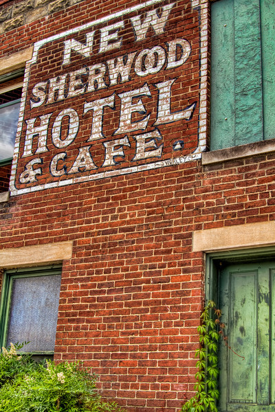 """New Sherwood Hotel""<br /> Kentucky Railway Museum<br /> New Haven, KY"