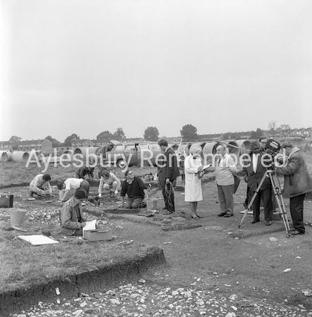 Bedgrove excavations, Sep 1965