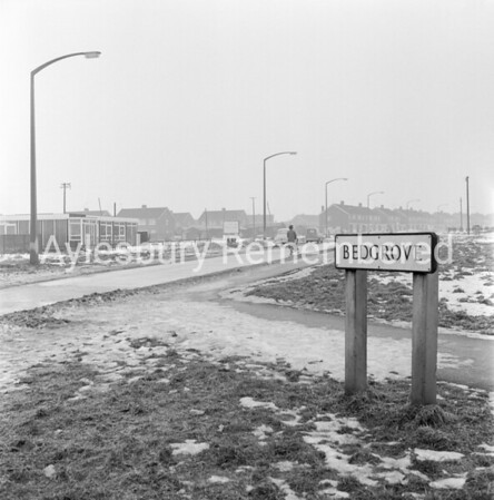 Bedgrove from Tring Road, Jan 28th 1963