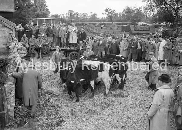 Bedgrove Farm sale, Apr 1959