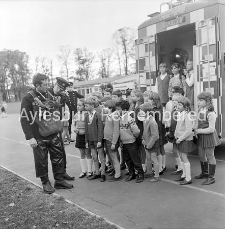 Fire Brigade at Bedgrove, Nov 1970