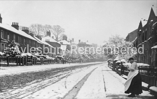 Bicester Road, April 1908