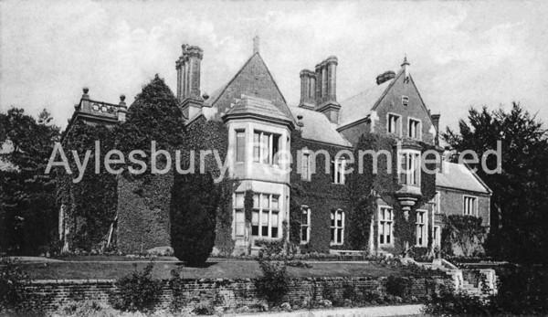 Manor House, Bierton Road, 1900s