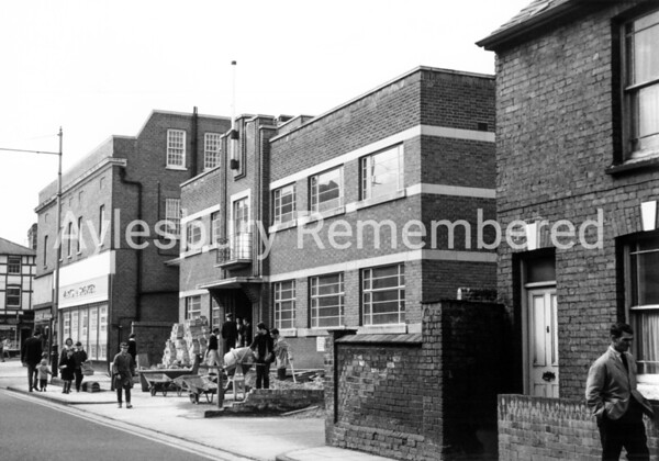 Hazells Club in Britannia Street, 1967
