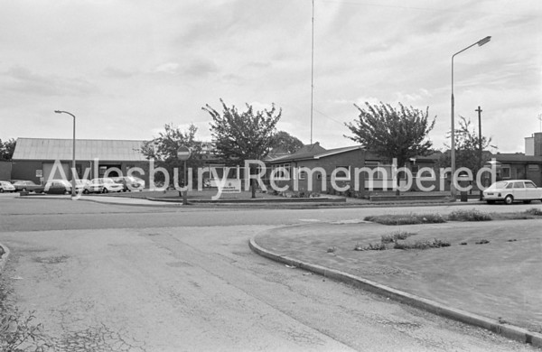 Ambulance Station in Buckingham Road, Aug 1973
