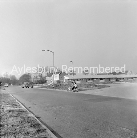 Elmhurst Road junction, Buckingham Road, March 31 1965