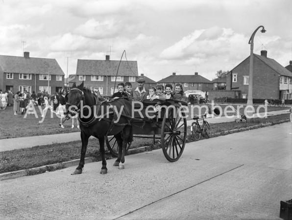 Cromwell Avenue fete, Aug 11 1956