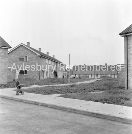 Megdale Place, Elmhurst Road, July 1965