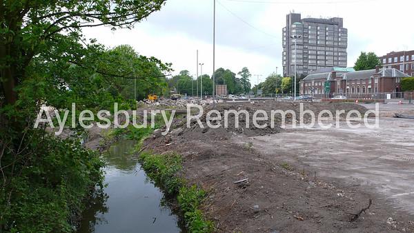 Waterside Theatre site, Exchange Street, May 1st 2007